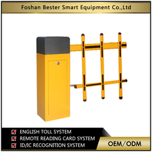 automatic parking lot control system and fast speed barrier gate/access road barrier