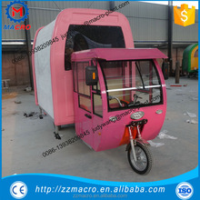 Small fast food bakery food cart trailer for sale