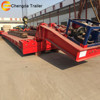 Detachable Gooseneck Trailers 3 Axis Low Bed Semi Trailer Axle lowboy Trailers for Sale