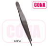 Stainless steel grip eyebrow tweezers B2935
