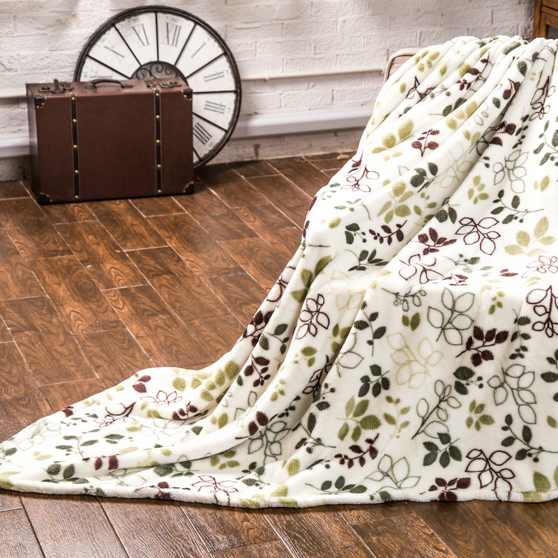 Home textile cool and warm blanket
