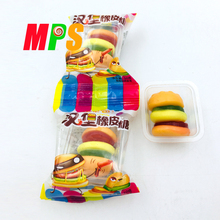 Tasty Hamburger Gummy Candy for Party