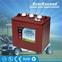 Alibaba manufacturers for EverExceed 6V 240Ah 225AH lead acid battery,golf cart battery