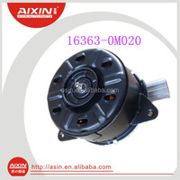 Car Electric A /C Fan Motor 16363-0M020 for TOYOTA Yaris manufacture