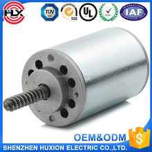 1200RPM 0.18N.m single worm dc motor 48 volt brushed motor 48v kw dc electric motor for electric toys
