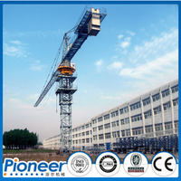 25 Tons Capacity QTZ500 Tower Crane for The High Rise Building