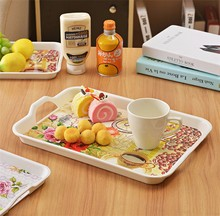 Durable Using Pretty Design Plastic Tray With Rolled Edge