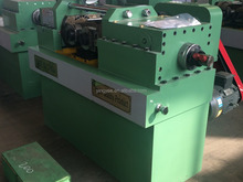thread rolling machine threaded rods making machine