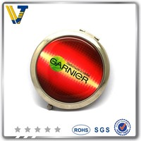 metal round compact mirrors wholesale