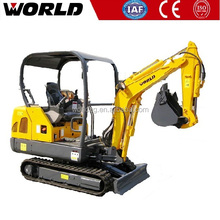 Light Weight 1.8ton 0.05m3 Bucket Yuchai mini excavator