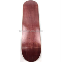 China Canadian maple decks supplier, blank Chinese maple skateboard decks