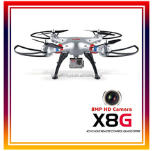8MP HD Camera Drones 2.4Ghz 6-axis Gyro RC Drone Quadcopter With Headless Mode