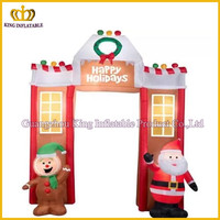 10'6 Airblown Inflatable Gingerbread Archway Christmas Inflatable
