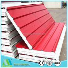Easy Install Color Steel EPS/Rock wool/Glass wool Sandwich Panel For Distributor