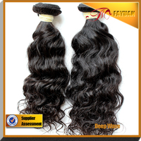 100% Natural Wholesale Indian Human Hair,Top Quality indian remy deep wave hair weave