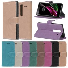 Fashion Retro Scrub PU Leather Case For LG G3 D850 D851 D855 Cover Cases Card Slots Wallet