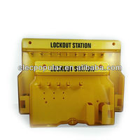 Enclosed Lockout Station With Cover