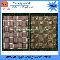 Decorative 3D Effect Wall Panels Embossed MDF Board
