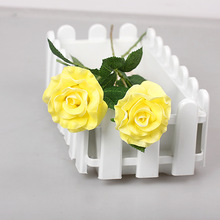 PU Rose walmart wedding flowers artificial flower for sale real touch artificial flower