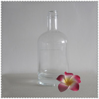 Bottle glass cullet bottle top shot glass