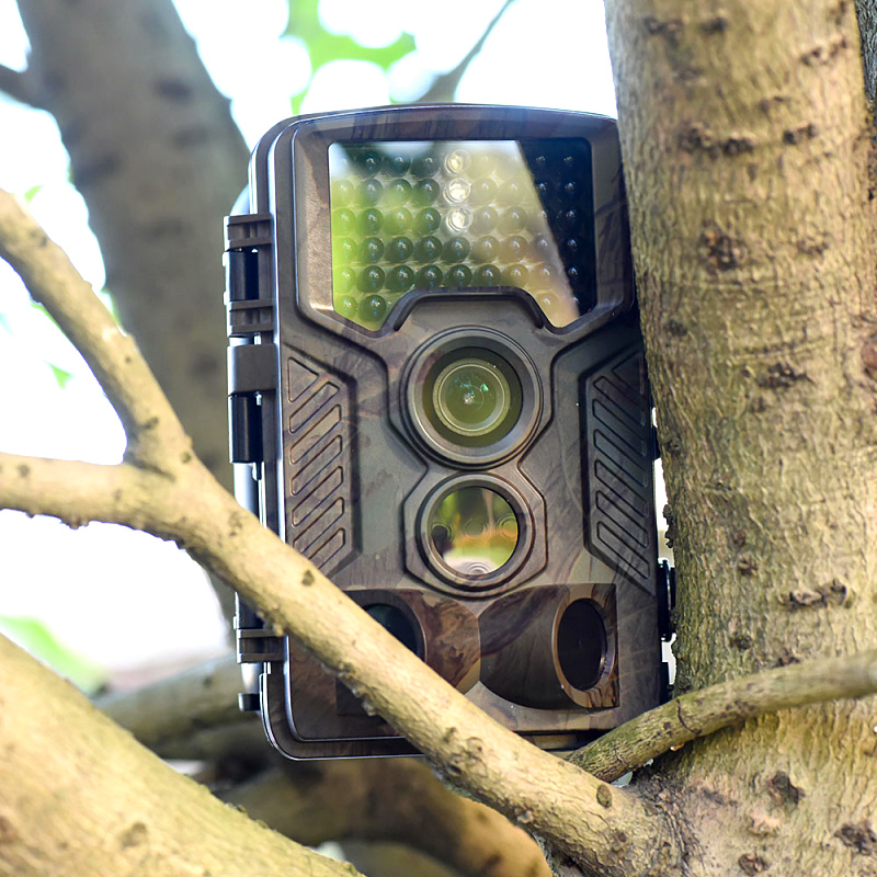 "12MP Sports Wildlife Animal Tracking Camera 720P 2.4"" TFTLCD 5MP CMOS sensor Digital Camera Video H801 Digital Cameras"