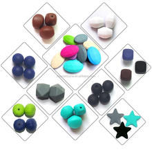 100% food grade craft string bead supplies and loose silicone beads wholesale