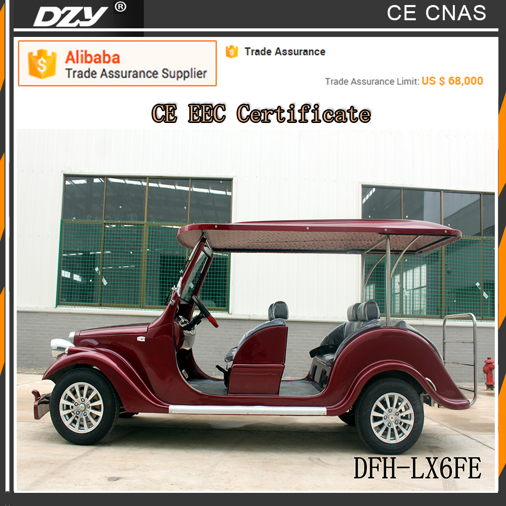 30km/h chinese golf cart for sale /battery operated golf cart