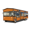 Boshi Brand 2019 hot sales! new design with 4wheels food truck usa for leisure market