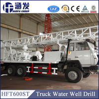 HFT600ST Truck Mounted Water Well Drilling Rig For Sale