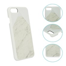 Chinese manufacturer Beautiful mobile phone back cover Marble cases for iphone 7