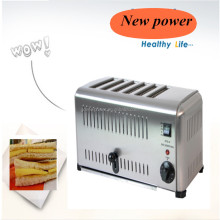 With CE, RoHS certification for sale for lucky people 6 Slice Electric Bread oven