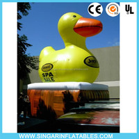 Big giant inflatable promotion yellow duck, popular Inflatable advertising Yellow Duck