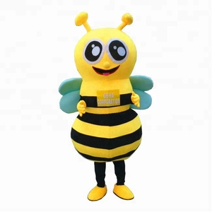 Lifesize adult bee mascot costume for sale