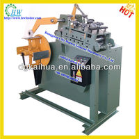 2 in 1 frame straightening machine and uncoiler machine for metal decoiler