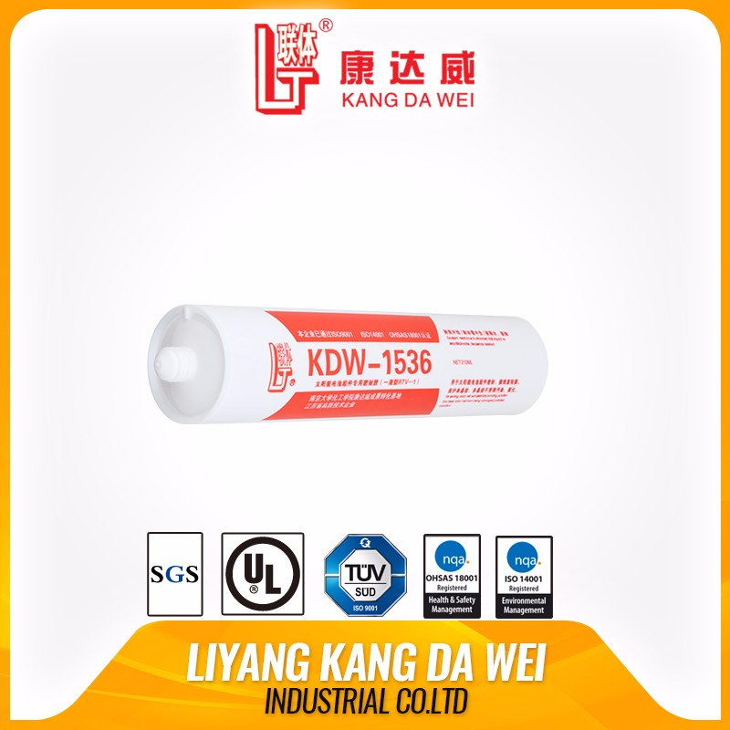 Solar module using anti-fungus silicone rubber adhesive sealant