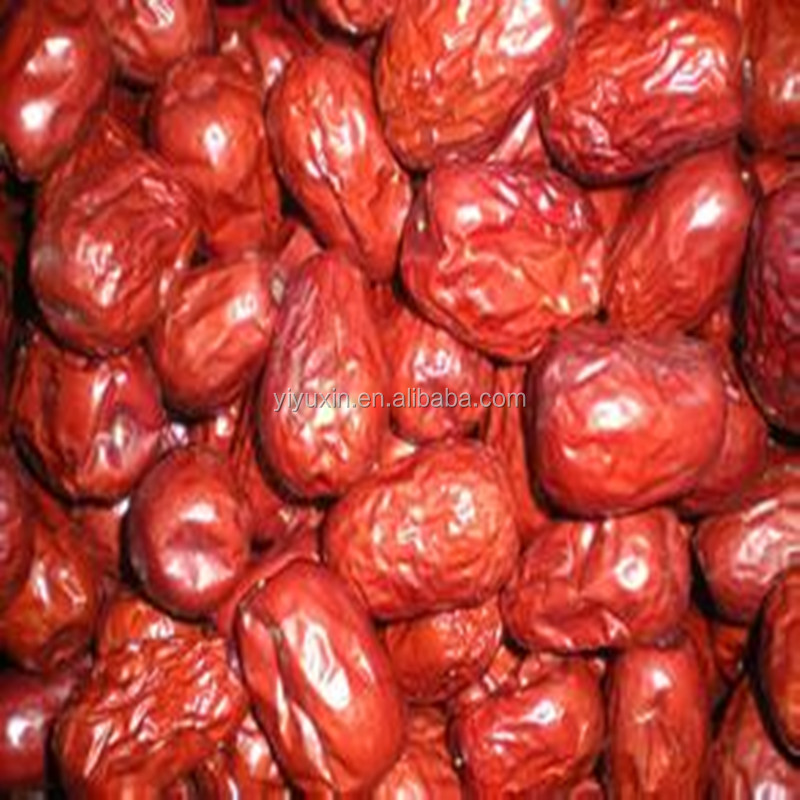 Bottom price hot sell dried food-red date Chinese fruit -Dried Red Dates