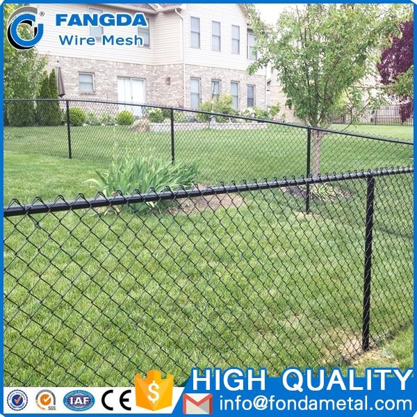 High Quality custom Pvc Coated Chain Link Rolled Wire Mesh Fence