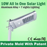 All In One High Power High Lumens Solar Led Garden Light Outdoor