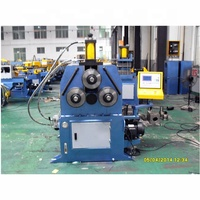 automatic easy operation 3 roller steel tube coiling machine manufacturer in zhangjiagang
