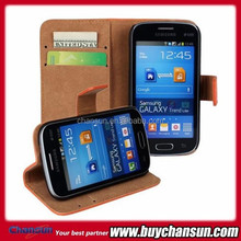 Wallet leather case for Samsung Galaxy Trend Lite S7390