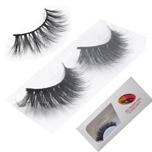 Excellent 3D mink lash 100% real mink fur factory supply
