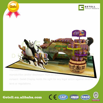 Customized magetical booth exhibition display