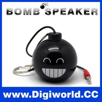 Portable Subwoofer Built-in Mic Audio USB Wired Mini Speaker