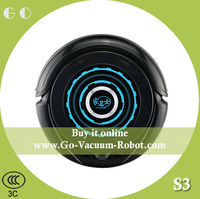 Low noise strong suction robot vacuum cleaner sweeping machine
