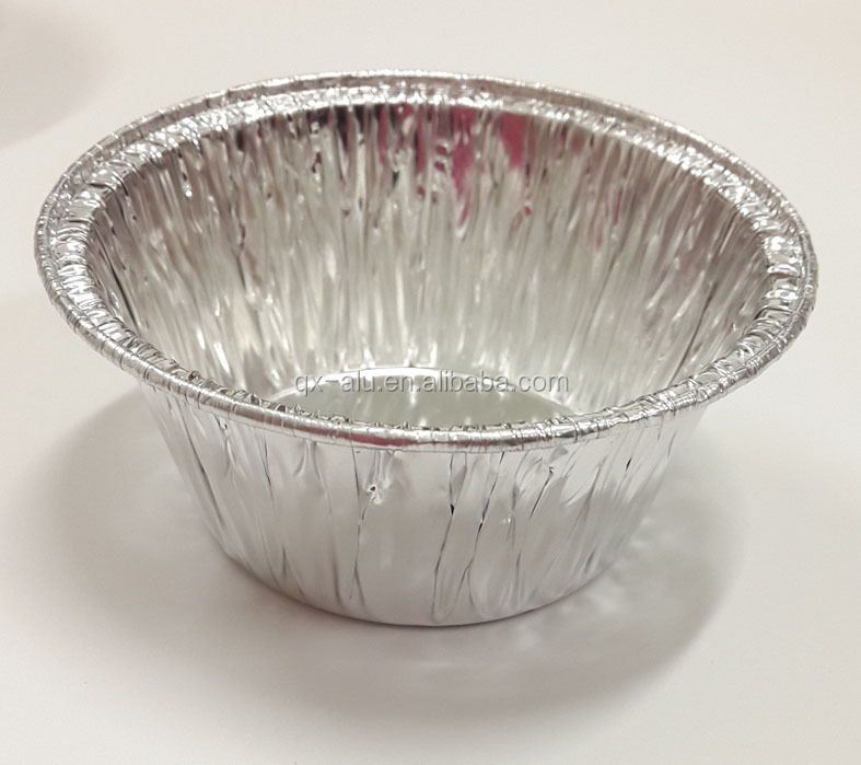 Small Size Round Aluminum Foil Cup