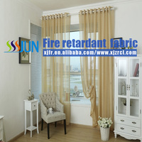 Wholesale Colorful Chinese Flame Proof Sheer Curtain