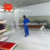 Furniture Spray Booth Painting Room Table