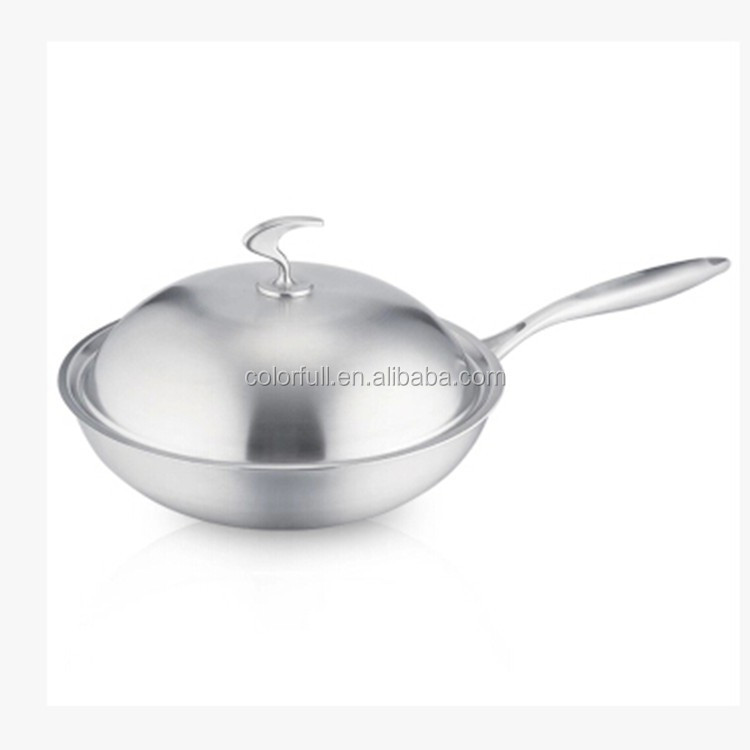 Aluminum Commercial Frying Aluminium Stone Coating Fry Pan High Quality Ceramic Cookwears