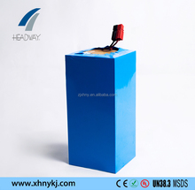 Headway rechargeable deep cycle lithium ion lifepo4 battery pack 48V 20Ah for electric scooter