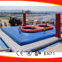 Outdoor Volleyball Playground/ Giant Volleyball Court Inflatable